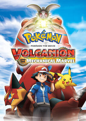 Pokemon The Movie Volcanion And The Mechanical Marvel On Netflix